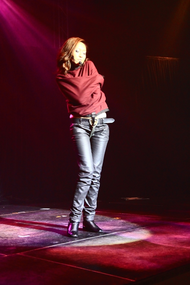 straight jacket striptease