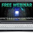 Protected: Effects & Illusions for Events Webinar Recording